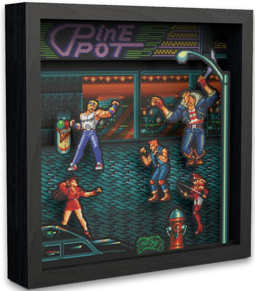 Sega Streets of Rage Pixel Frames [9X9]