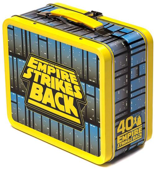 Funko Star Wars The Empire Strikes Back 40th Anniversary Darth Vader vs. Luke Skywalker Tin Lunch Box
