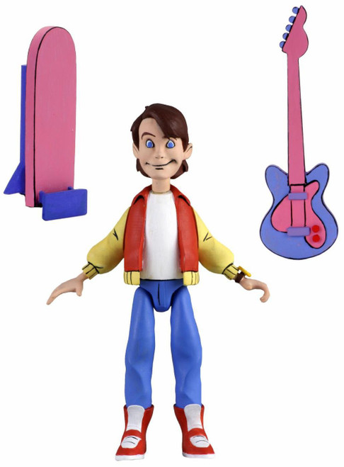 NECA Back to the Future The Animated Series Toony Classics Marty McFly Action Figure