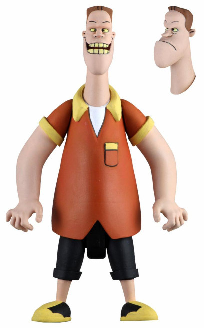 NECA Back to the Future The Animated Series Toony Classics Biff Action Figure