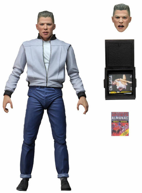 NECA Back to the Future Biff Tannen Action Figure [Ultimate Version]