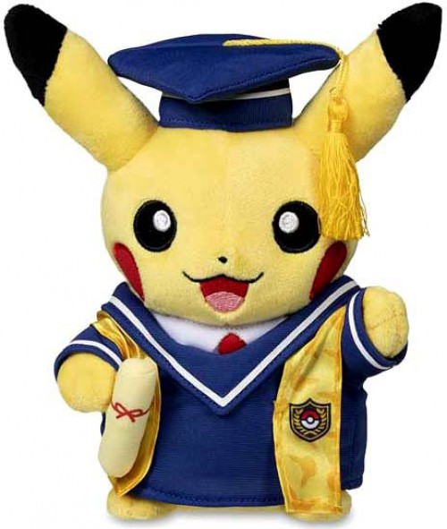 Pokemon Graduate Pikachu Exclusive 8-Inch Plush [2020 Version]