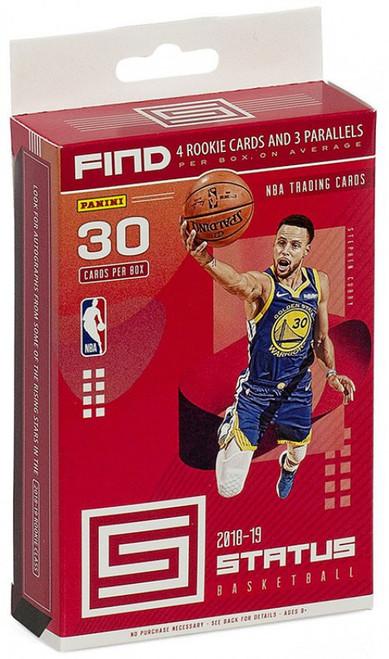 NBA Panini 2018-19 Status Basketball Trading Card HANGER Box [30 Cards!]