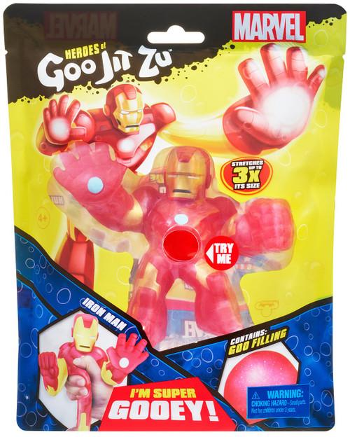 Heroes of Goo Jit Zu Marvel Iron Man Action Figure