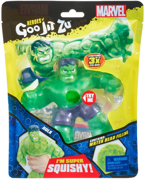 Heroes of Goo Jit Zu Marvel Hulk Action Figure