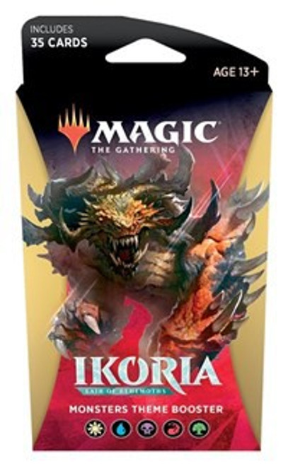 MtG Trading Card Game Ikoria: Lair of Behemoths Monsters Theme Booster Pack [35 Cards]