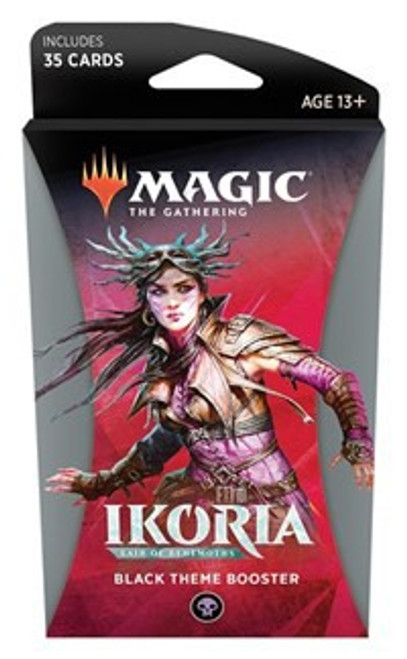 MtG Trading Card Game Ikoria: Lair of Behemoths Black Theme Booster Pack [35 Cards]