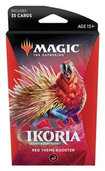 MtG Trading Card Game Ikoria: Lair of Behemoths Red Theme Booster Pack [35 Cards]