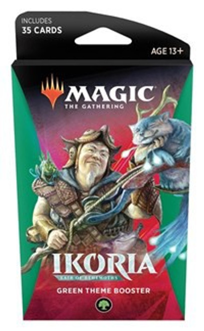 MtG Trading Card Game Ikoria: Lair of Behemoths Green Theme Booster Pack [35 Cards]