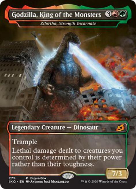 MtG Ikoria: Lair of Behemoths Mythic Rare Godzilla, King of the Monster #275 [Zilortha, Strength Incarnate]