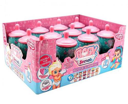 Baby Secrets Bottle Surprise Mystery Box [12 Packs]