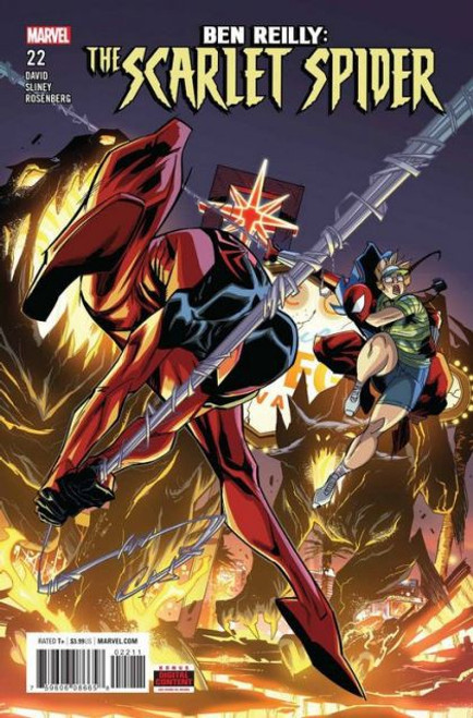 Marvel Ben Reilly: The Scarlet Spider #22 Comic Book