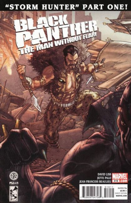 Marvel Black Panther: The Man Without Fear #519 Comic Book