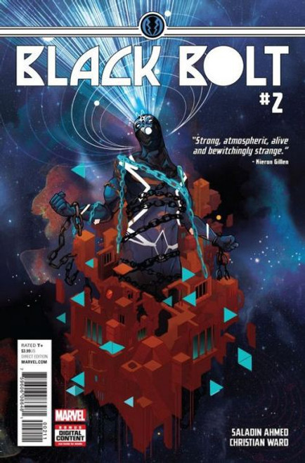 Marvel Black Bolt #2A Comic Book