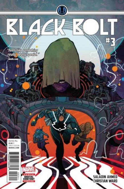 Marvel Black Bolt #3A Comic Book