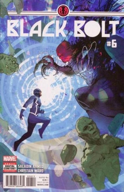 Marvel Black Bolt #6 Comic Book