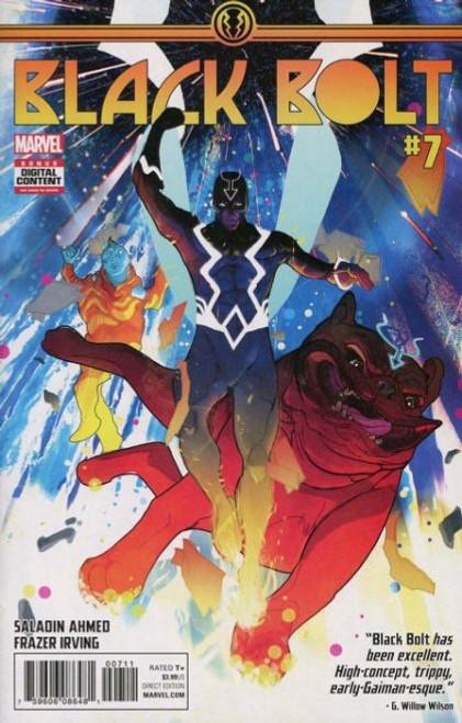 Marvel Black Bolt #7 Comic Book