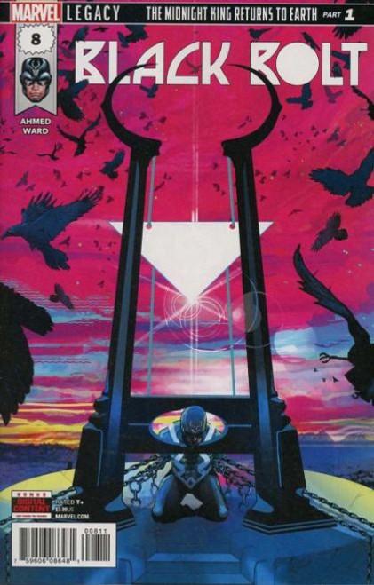 Marvel Black Bolt #8A Comic Book