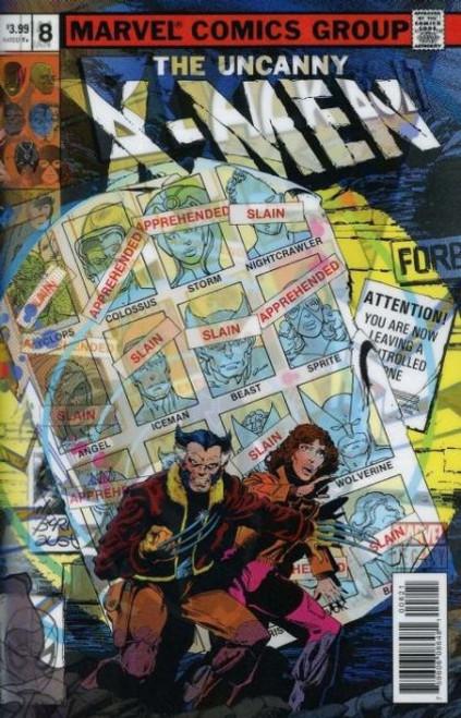 Marvel Black Bolt #8B Comic Book
