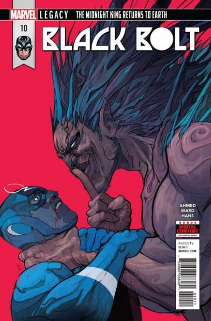 Marvel Black Bolt #10 Comic Book