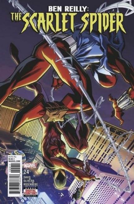 Marvel Ben Reilly: The Scarlet Spider #24 Comic Book