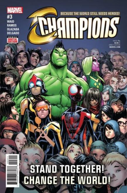 Champions, Vol. 2 (Marvel) #3A Comic Book