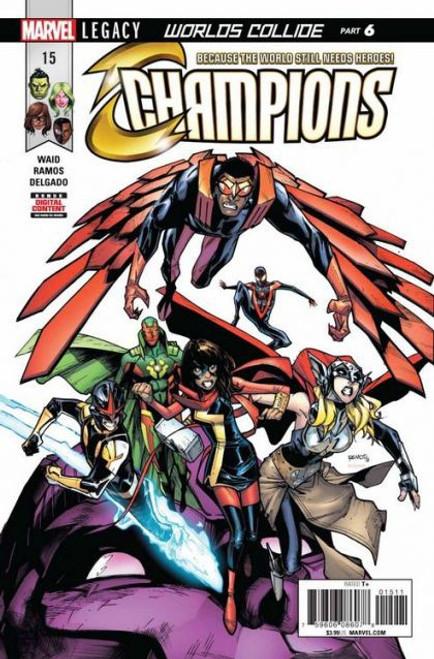 Champions, Vol. 2 (Marvel) #15A Comic Book