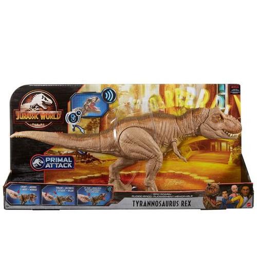 Jurassic World Camp Cretaceous Epic Roarin' Tyrannasaurus Rex Action Figure