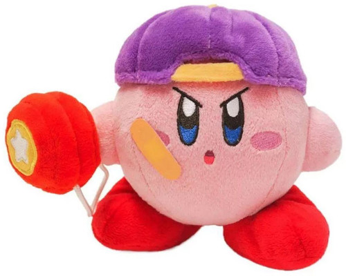 Kirby's Adventure Kirby 5-Inch Plush [Yo Yo]
