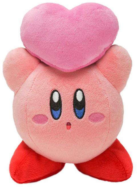 Kirby's Adventure Kirby 5-Inch Plush [Heart]