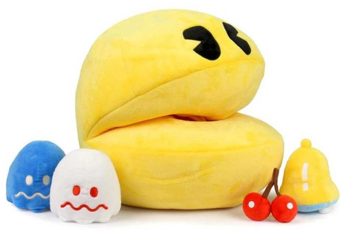 Pac Man 16-Inch Large Plush [Sound Chip & Plush Inserts!] (Pre-Order ships October)