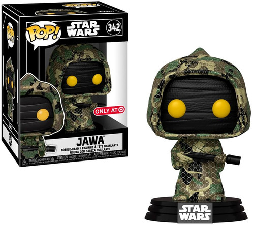 Funko The Rise of Skywalker POP! Star Wars Jawa Exclusive Vinyl Figure #342 [Futura, with Case]