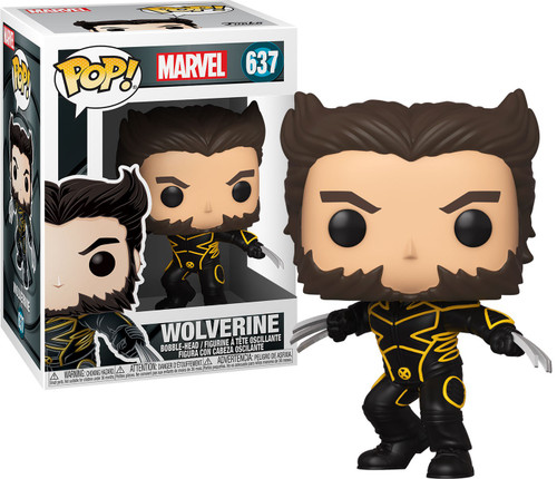 Funko X-Men 20th POP! Marvel Wolverine in Jacket Vinyl Figure