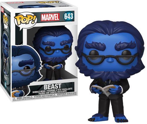 Funko X-Men 20th POP! Marvel Beast Vinyl Figure