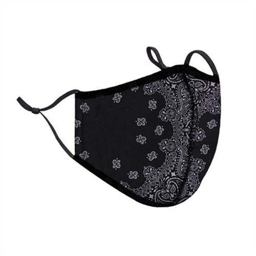 Top Trenz Neoprene, Reusable & Washable Bandana Face Mask [Adult Men]