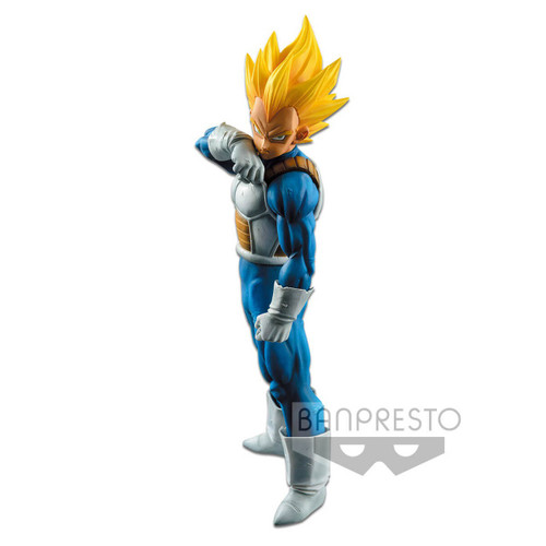Dragon Ball Z Grandista Resolution of Soldiers Super Siayan Vegeta 6.7-Inch Collectible PVC Figure (Pre-Order ships November)