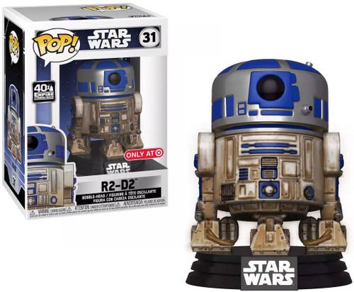 Funko POP! Star Wars R2-D2 Exclusive Vinyl Figure #31 [Dagobah]