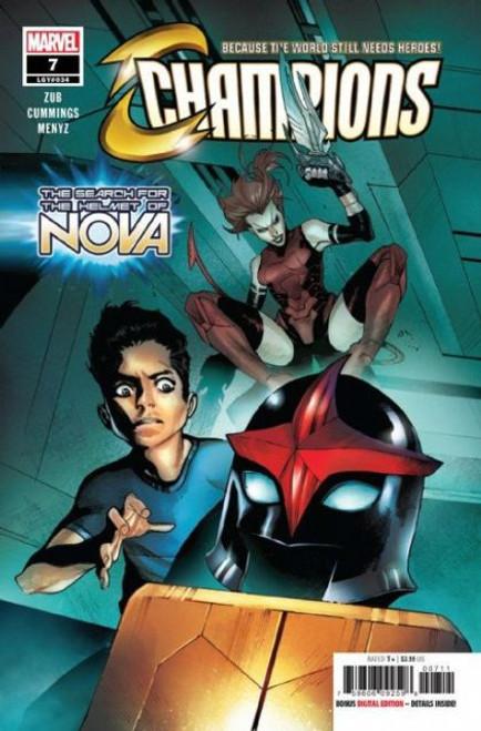 Champions, Vol. 3 (Marvel) #7 Comic Book