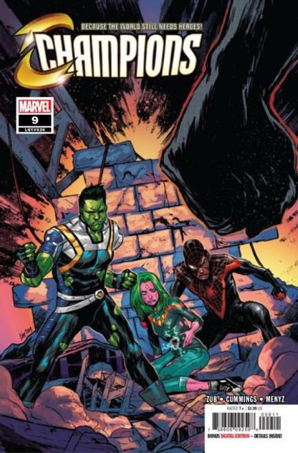 Champions, Vol. 3 (Marvel) #9 Comic Book