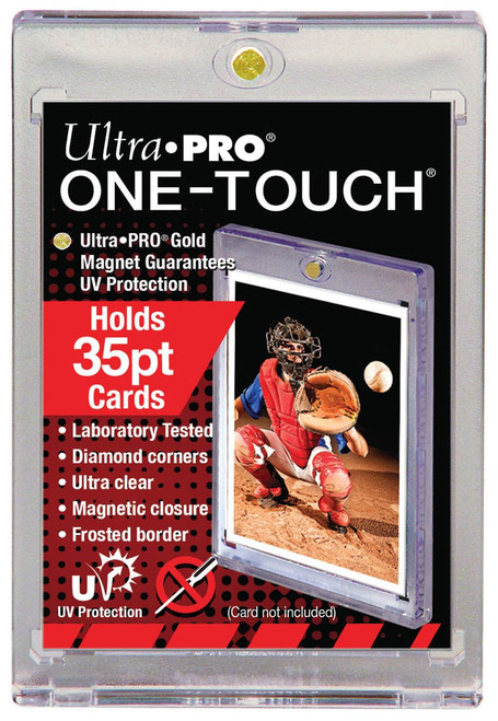 Ultra Pro Card Supplies UV One-Touch Magnetic Card Holder [35 Pt]