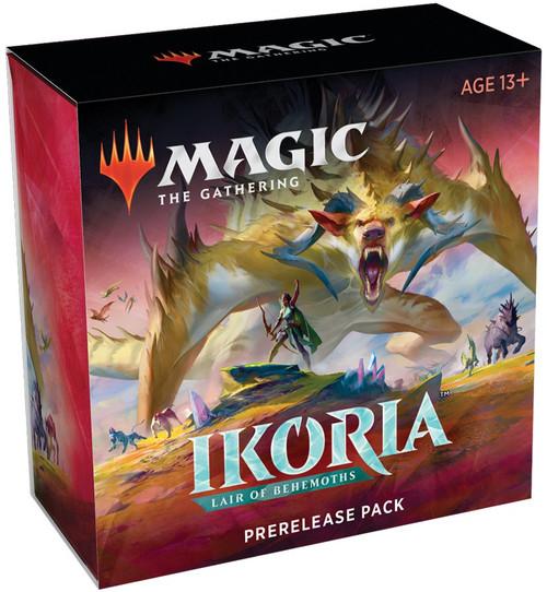MtG Trading Card Game Ikoria: Lair of Behemoths Prerelease Pack [6 Booster Packs, Promo Card & More!]