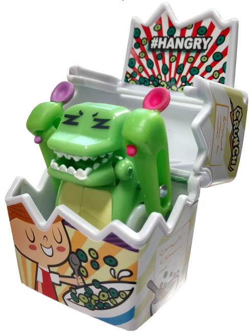 OH! My Gif Season 1 Cereal Crocko #HANGRY Common Figurine #32 [Includes A.R. GIFbit Card Loose]