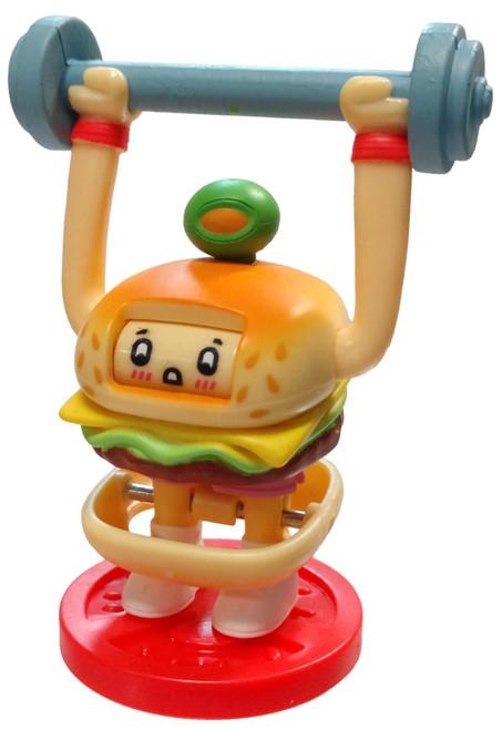 OH! My Gif Season 1 Liftin' Burgie #FAIL Common Figurine #42 [Includes A.R. GIFbit Card Loose]