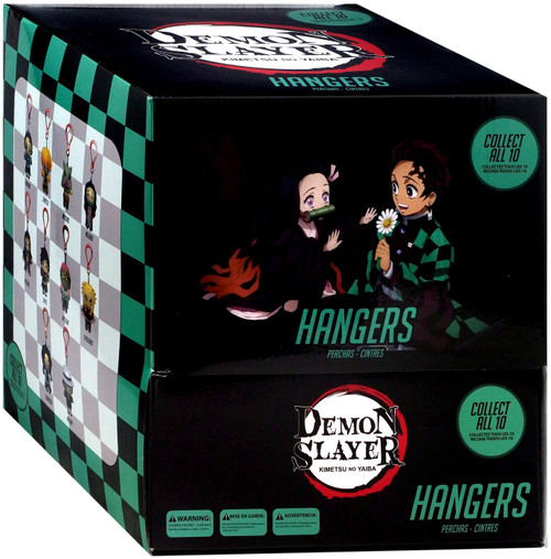 Demon Slayer: Kimetsu no Yaiba Backpack Hangers Demon Slayer Mystery Box [20 Packs] (Pre-Order ships January)