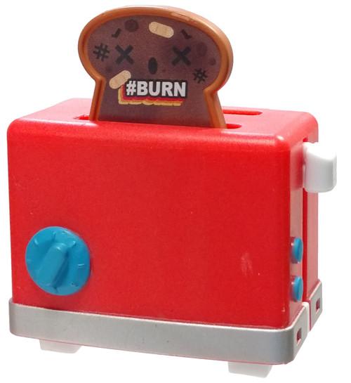 OH! My Gif Season 1 Burning Toasties #BURN Common Figurine #47 [Includes A.R. GIFbit Card Loose]