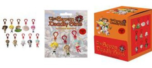 Backpack Hangers The Seven Deadly Sins Mystery Pack [1 RANDOM Figure] (Pre-Order ships May)