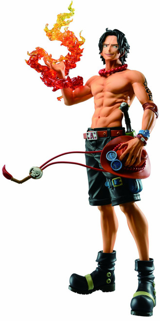 One Piece Ichiban Ace 7.8-Inch Collectible PVC Figure [Treasure Cruise]