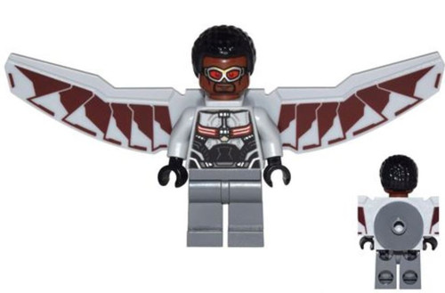 LEGO Marvel Super Heroes Captain America: Civil War Falcon Minfigure [Loose]