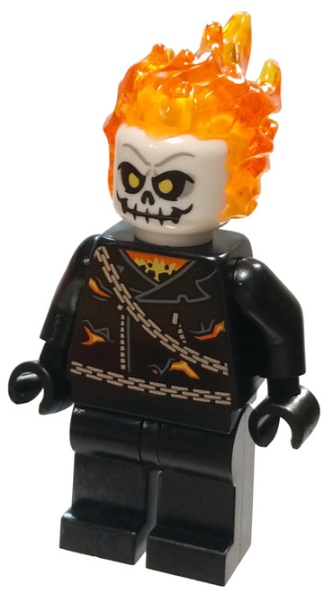 LEGO Marvel Super Heroes Spider-Man Ghost Rider Minifigure [Loose]