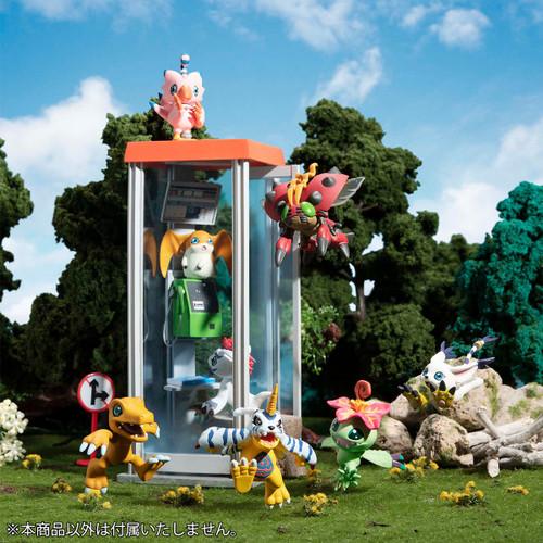 Digimon Digicolle Mix 2-Inch Mini PVC Set [8 Figures & Bonus]